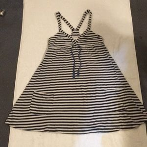 Victoria's Secret Pink Striped Small Summer Dress